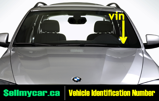 Where To Find Vin Number >> Ontario Vehicle Ownership Vin Number Sell My Car Toronto